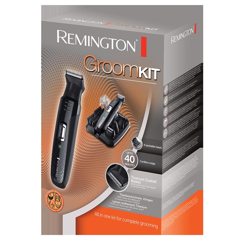 Multi Groom Men S Personal Groomer Kit Pg6130 Remington Uk
